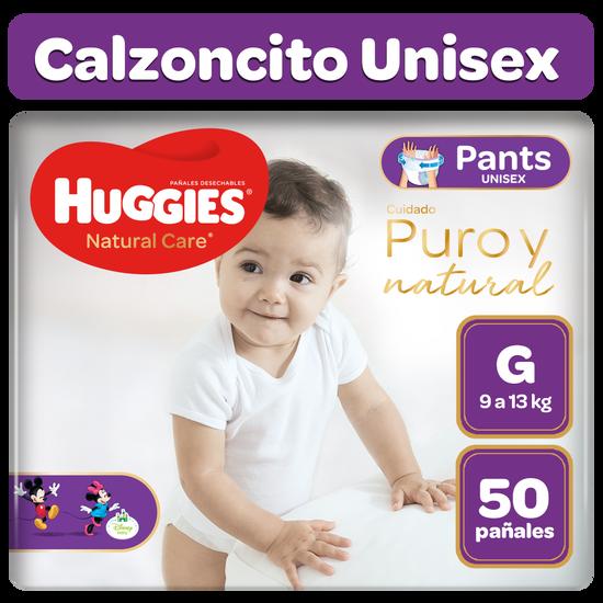 Pants Huggies Natural Care Talla G 50 unid