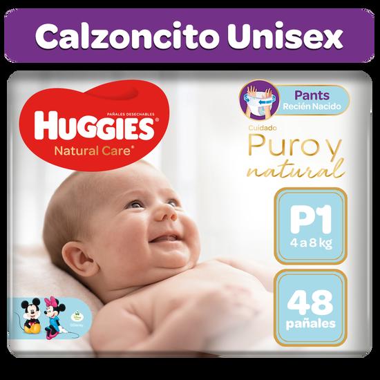 Pants Huggies Natural Care Talla P 48 unid