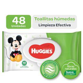 Toallitas Húmedas Huggies Limpieza Efectiva 48 unid
