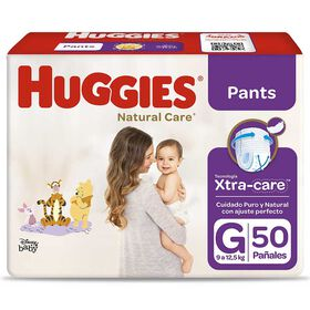 Pants Huggies Natural Care Xpad Talla G 50 unid