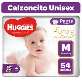 Pants Huggies Natural Care Talla M 54 unid