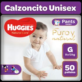Pañales Huggies Natural Care Pants G 50 unid